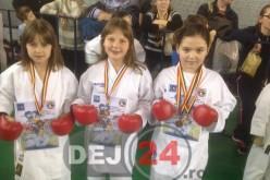 Nouă medalii pentru sportivii Budokan Ryu, la Cupa Mickey Mouse – GALERIE FOTO