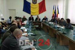 Ședință a Consiliului Local Dej: 5 proiecte de hotărâre au fost retrase