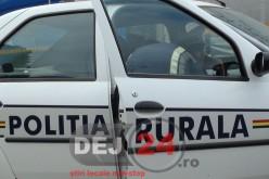 Polițiștii gherleni au depistat un conducător auto care circula cu numere false de înmatriculare