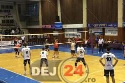 Unirea Dej – Explorări Baia Mare 3-1. Meci spectaculos în Sala Sporturilor – GALERIE FOTO