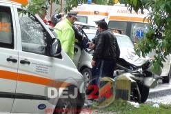 Bărbat din Dej, implicat într-un accident rutier produs între Cășeiu și Urișor