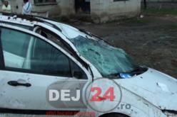 Accident cu două autovehicule implicate, în Uriu