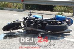 ACIDENT GRAV la Măgoaja. Un motociclist a fost rănit