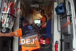 Femeie din Gherla, rănită într-un accident petrecut pe DN1C