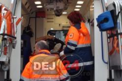 Gherla: A traversat strada neregulamentar și a fost izbită de o mașină