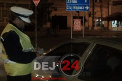 Dejean FĂRĂ PERMIS, la volan, pe străzile din Dej