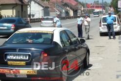 Controale și filtre rutiere în minivacanța de 1 Mai. Un conducător auto a fost depistat în Dej băut la volan