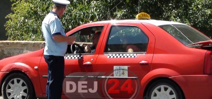 Acțiune a polițiștilor pentru identificarea celor care practică ilegal activitatea de taximetrie