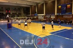 VOLEI: CS Unirea Dej a învins pe teren propriu CSM București