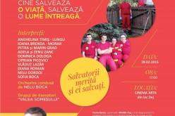 Concert caritabil la Dej pentru ajutorarea paramedicului Florin Benea