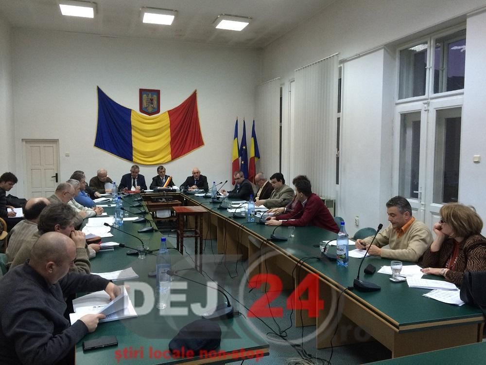 consilieri sedinta buget Dej (2)