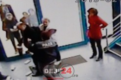 Doi bărbați au fost prinși la furat într-un supermarket din Dej – VIDEO CAMERE DE SUPRAVEGHERE