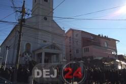 """Biserica """"Sfinții Arhangheli Mihail și Gavriil"""" din Dej și-a sărbătorit hramul"""