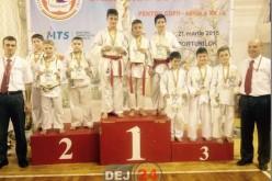 Trei medaliați cu bronz la Campionatului Național pentru Copii la Karate WKC