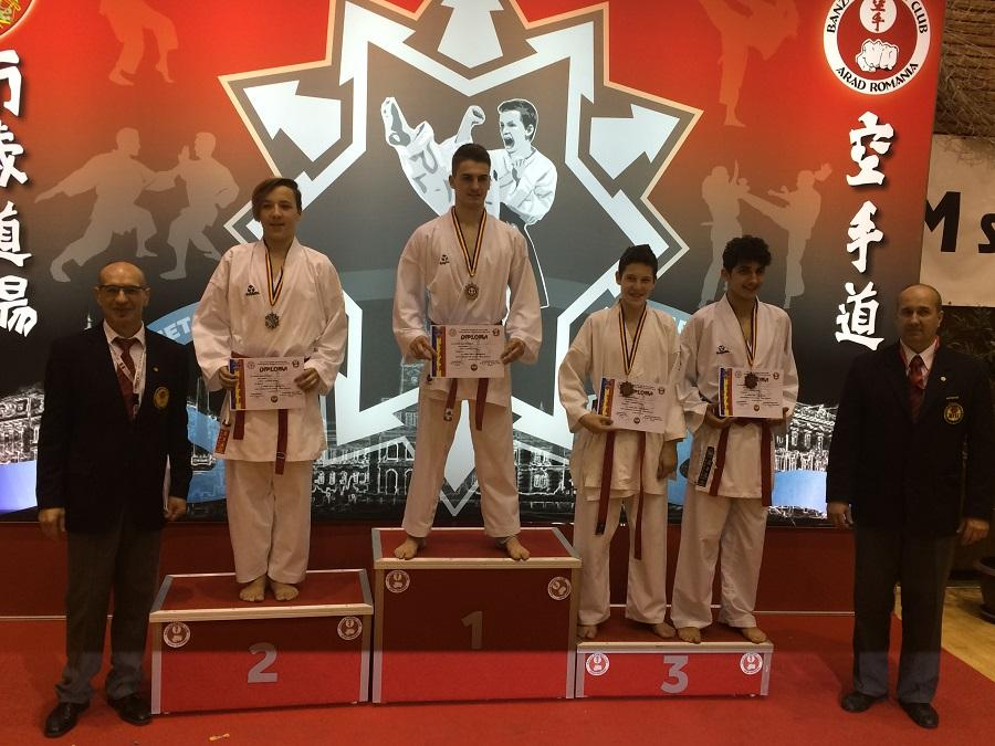 Budokan Ryu Dej medalie (1)
