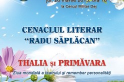 """Cenaclul Literar """"Radu Săplăcan"""", astăzi, la Cercul Militar Dej (ACTUALIZARE) – FOTO"""