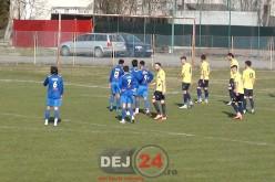 FC Unirea Dej întâlnește mâine după-amiază liderul seriei, FCM Baia Mare