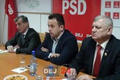 Liviu-Marian Pop, Ministrul delegat pentru Dialog Social a fost azi la Dej – FOTO/VIDEO