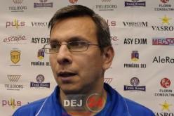"""Antrenorul Unirii Dej, Victor Lazăr: """"Este pe deplin meritată victoria echipei din Zalău"""" – VIDEO"""