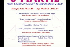 Spectacol dedicat zilei de 8 martie la Dej – FOTO