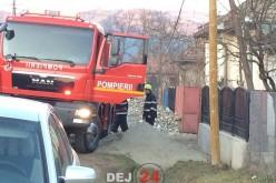 Incendiu minor în Batin. Pompierii dejeni au intervenit cu o autospecială – FOTO