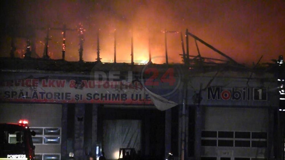 incendiu Ciceu Mihaiesti 2