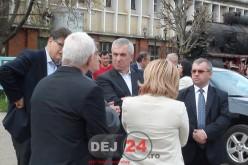 Călin Popescu-Tăriceanu a vizitat azi Muzeul de Locomotive Dej-Triaj – FOTO/VIDEO
