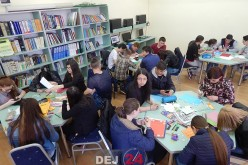 """EXCLUSIV. Ziua Cărții, marcată de elevii și profesorii de la Liceul Tehnologic """"Constantin Brâncuși"""" Dej – FOTO"""