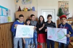 Ziua Pământului, marcată de elevii Școlii Gimnaziale Speciale Dej – FOTO
