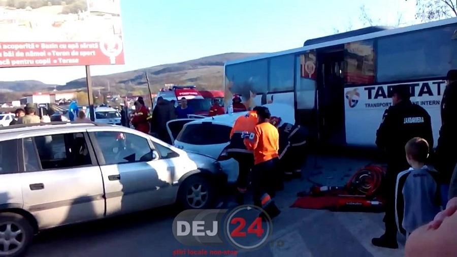 accident autocar Beclean (4)