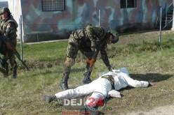 """Școlarii și preșcolarii din Dej s-au """"militarizat"""" în cadrul săptămânii """"Școala Altfel"""" – FOTO/VIDEO"""
