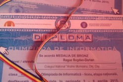 "Un elev de la Colegiul Național ""Andrei Mureșanu"" a obținut o medalie de BRONZ"