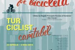 ASR Principele Nicolae al României pedalează joi prin Dej