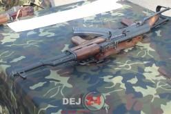 Militar din Dej, prins în afara orelor de serviciu cu o armă și două gloanțe – VIDEO
