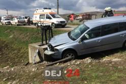 Accident de circulație la Bunești. Două persoane au ajuns la spital – FOTO/VIDEO