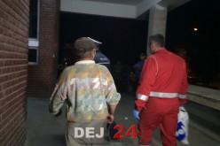 Și-a dat foc la casa în care locuia. Bărbatul a ajuns la spitalul din Dej – FOTO/VIDEO