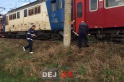 Accident feroviar în Dej. Un bărbat și-a pierdut viața – FOTO/VIDEO