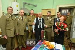 Ziua veteranilor de război a fost marcată astăzi și la Dej – GALERIE FOTO