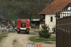 Pompierii au intervenit la un incendiu pe strada Șomcutului din Dej – FOTO