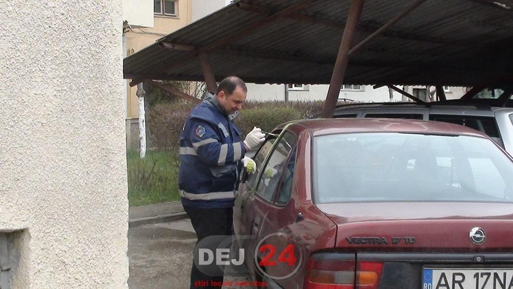 masina furata de un minor accident (1)