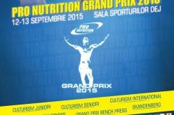 GRAND PRIX PRO NUTRITION, cel mai mare eveniment de culturism din România, în acest weekend la Dej