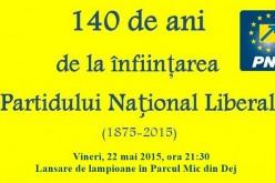 Lansare de lampioane la Dej cu ocazia împlinirii a 140 de ani de liberalism