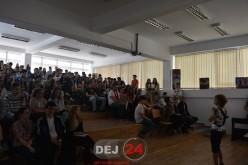 """Ziua Europei, sărbătorită la Liceul Teoretic """"Alexandru Papiu Ilarian"""" Dej – FOTO"""