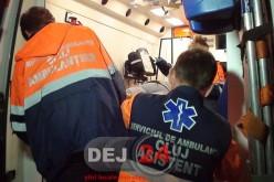 Accident cu două victime pe DN1C, după ce o mașină a ajuns în șanț