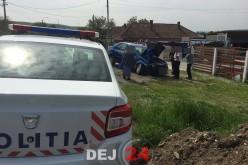 Accident cu două mașini implicate, în Urișor – FOTO