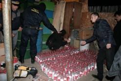 Prins în Uriu transportând 300 de litri de alcool fără documente de proveniență