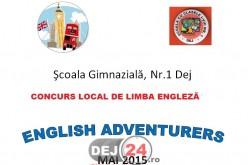 """""""English Adventurers"""", concurs adresat celor mai buni elevi la limba engleză"""