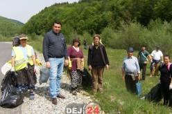 Acțiune de ecologizare în Căianu Mic. O dejeancă a rămas impresionată – FOTO