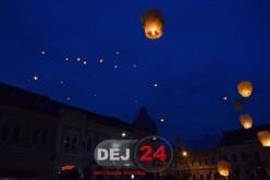 Lampioane lansate spre cer pentru a marca 140 de ani de liberalism – FOTO/VIDEO