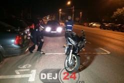 Accident de motocicletă în Gherla. Două persoane au fost rănite – FOTO/VIDEO